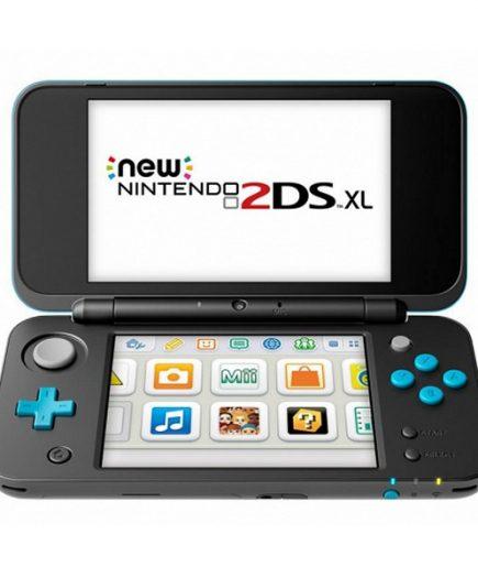 xekios Nintendo New 2DS XL Sony 223594 4 GB microSDHC Noir Turquoise