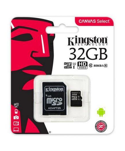 xekios Carte Micro SD Kingston SDCS/32GB 32 GB