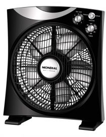 xekios Ventilateur de Bureau Mondial V64 85W 40 cm Noir