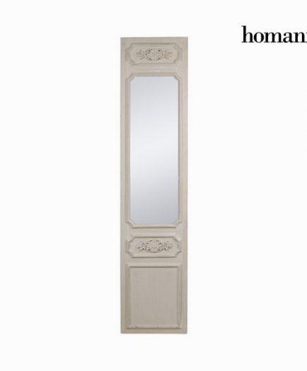 xekios Miroir Bois Crème (45 x 200 x 10 cm) by Homania