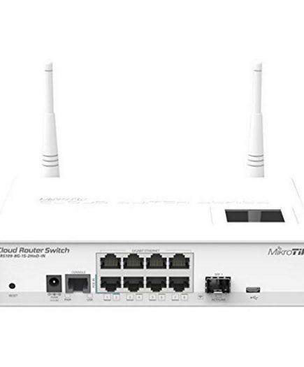 xekios Commutateur Réseau de Bureau Mikrotik CRS109-8G-1S-2 8G 2,4GHz L5