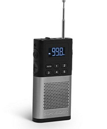 xekios Radio Transistor SCHNEIDER PICCOLO AM/FM LED Gris