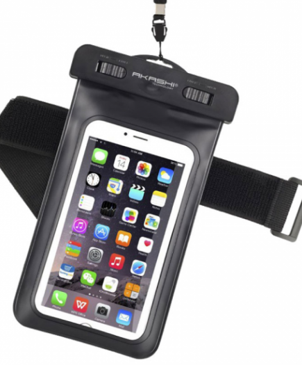 xekios Étui étanche Akashi ALTIPX8DRYBLK Smartphone 10 m
