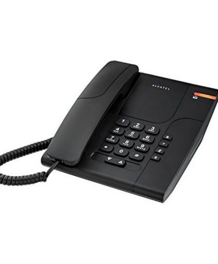 xekios Téléphone fixe Alcatel T180 Temporis Noir
