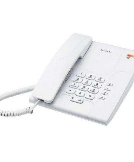 xekios Téléphone fixe Alcatel T180 Versatis Blanc