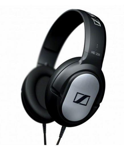 xekios Casque audio Sennheiser HD-206 108 dB Noir Argent