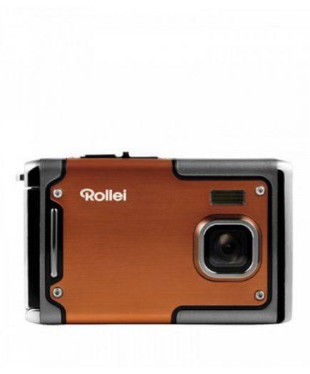 xekios Caméra photo compacte Rollei Sportsline 85 Orange Noir