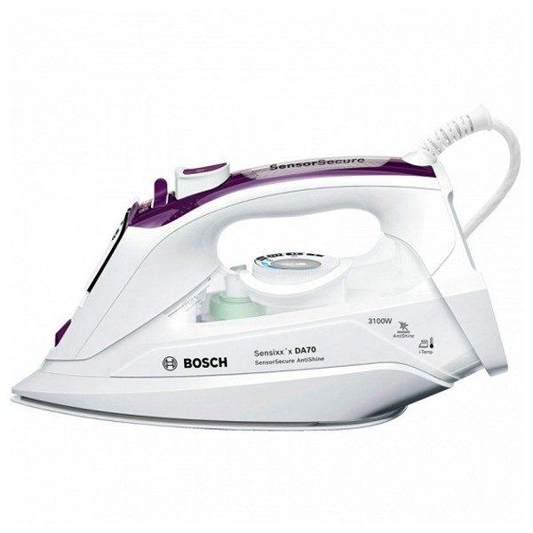 xekios Fer à vapeur BOSCH TDA703121A 380 ml SoftTouch 3200W Blanc Violet Céramique