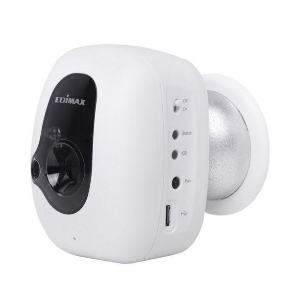 xekios Caméra IP Edimax IC-3210WK (H/V/D): 46,1° / 34,6° / 57,6° IR LED x 2 Ordinateur portable Vision nocturne