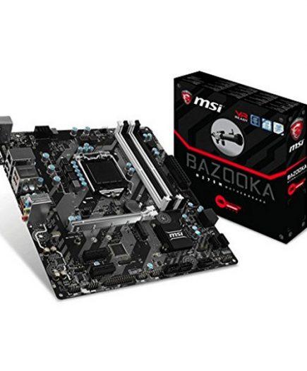 xekios Carte mère Gaming MSI H270M BAZOOKA mATX LGA1151