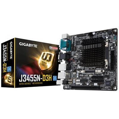 xekios Carte Mère avec CPU Intégré Gigabyte GA-J3455N-D3H Mini-ITX Intel® Quad-Core Celeron® J345
