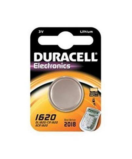 xekios Pile Bouton au Lithium DURACELL DRB1620 CR1620 3V