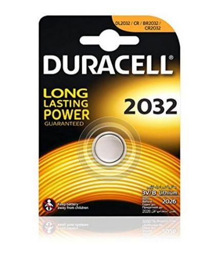 xekios Pile Bouton au Lithium DURACELL DRB2032 CR2032 3V