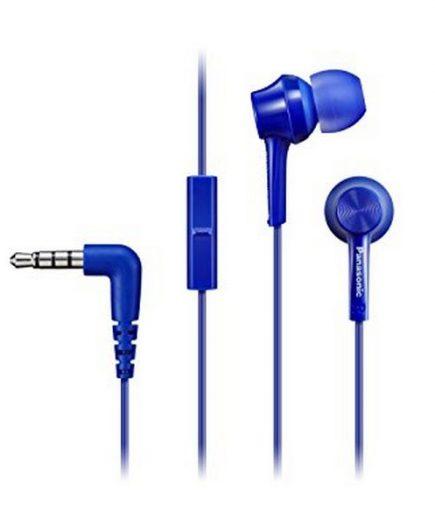 xekios Casques avec Microphone Panasonic RP-TCM105E-A Bleu