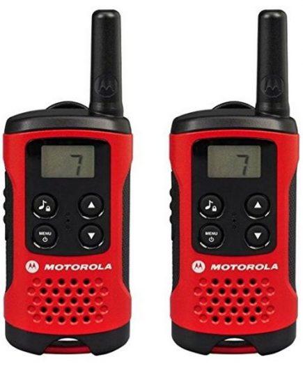xekios Talkie-walkie Motorola TLKR T40 4 km LCD 16 h AAA Noir Rouge