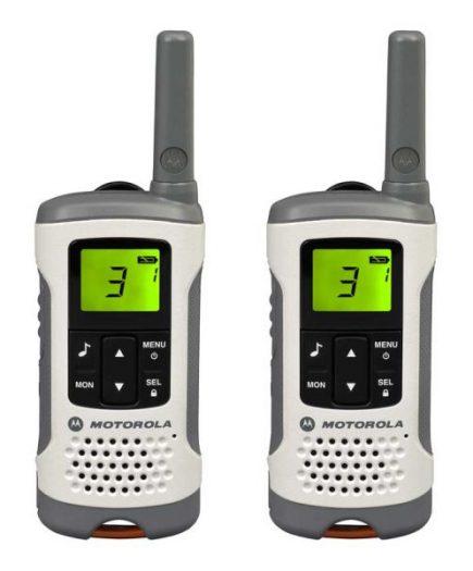 xekios Talkie-walkie Motorola TLKR T50 Blanc