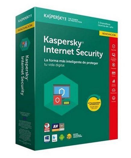 xekios Antivirus Maison Kaspersky 54073 3L/1A Multi-Device