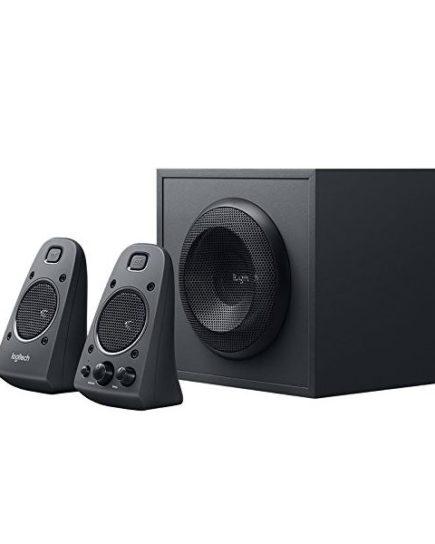 xekios Haut-parleurs pour jeu Logitech Z625 THX 2.1 400W Noir