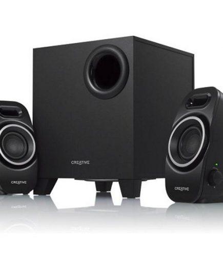 xekios Haut-parleurs de PC Creative Technology A250-51MF0420AA000 2.1 9W Noir