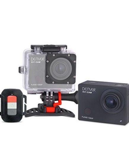 xekios Caméra Sport Denver Electronics ACT 8030W 16 Mp 2 Full HD WIFI Noir
