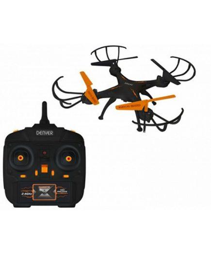 xekios Drône Denver Electronics 222679 380 mAh Noir Orange