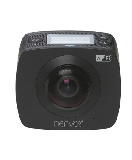 xekios Caméscope Denver Electronics ACV-8305 0,96 LCD 360º HD Wifi Noire