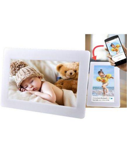 xekios Cadre Photo Numérique Denver Electronics PFF-1010 10,1 8 GB WIFI Blanc