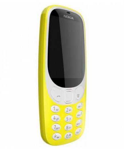 xekios Téléphone portable Nokia 3310 2,4 TFT Radio FM Bluetooth 1200 mAh Jaune