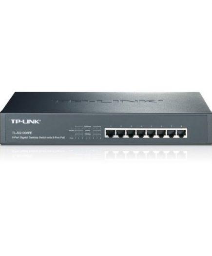 xekios Commutateur Réseau Armoire TP-LINK TL-SG1008PE 8P Gigabit PoE+ 124 W 13