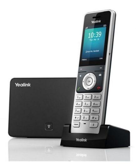 "xekios Téléphone IP YEALINK W56P DECT PoE 2,4"""