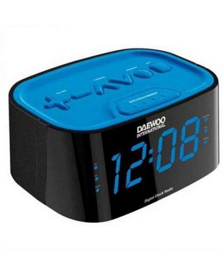 xekios Radio-réveil Daewoo DCR45BL Bleu