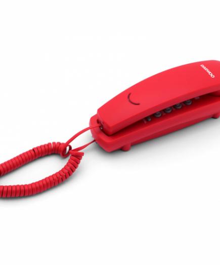xekios Téléphone fixe Daewoo DTC-115R LED Rouge