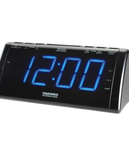 xekios Radio réveil avec projecteur LCD Daewoo 222932 USB