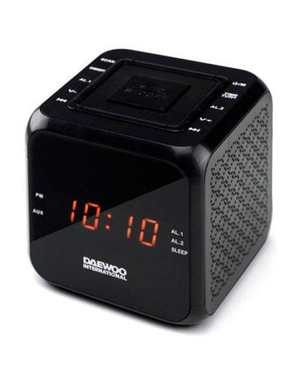xekios Radio-réveil Daewoo DCR-450 Noir