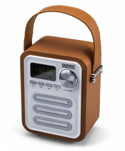 xekios Haut-parleurs bluetooth portables Daewoo DBT07OR Radio FM 5W Orange