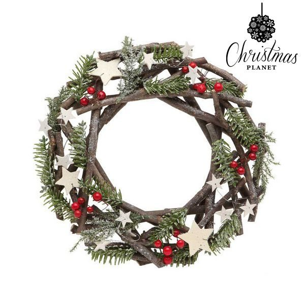 xekios Couronne de Noël Christmas Planet 2503 Bois