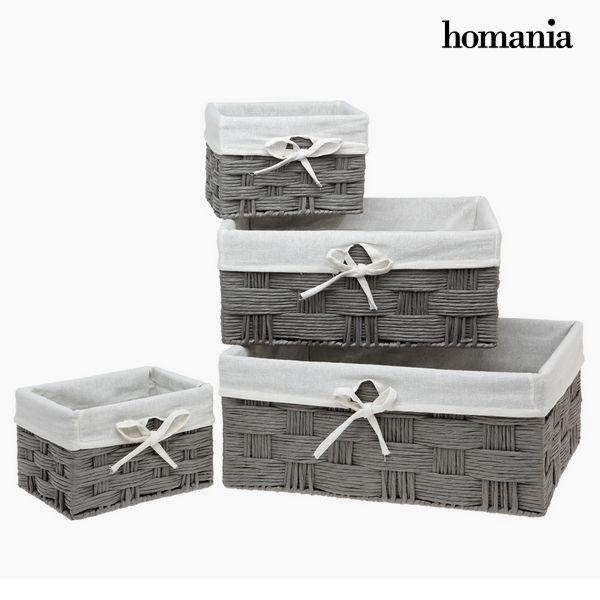 xekios Lot de paniers Homania 3067 (4 pcs)