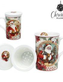 xekios Lot de tasses Christmas Planet 4247 (2 pcs) Père noël
