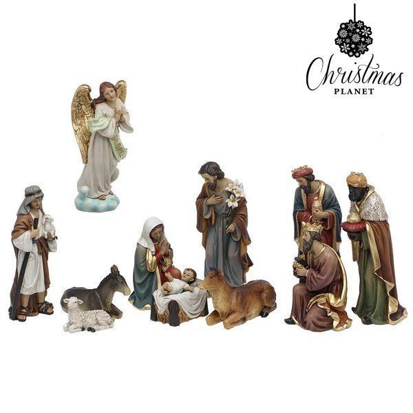 xekios Crèche de Noël Christmas Planet 6838 25 cm (11 pcs)