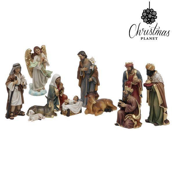xekios Crèche de Noël Christmas Planet 6869 15 cm (11 pcs)