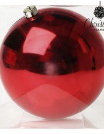 xekios Boules de Noël Christmas Planet 1785 8 cm (2 uds) Verre Rouge