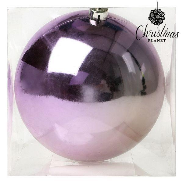 xekios Boule de Noël Christmas Planet 7544 20 cm Violet