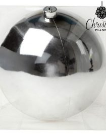 xekios Boule de Noël Christmas Planet 7681 15 cm Argenté