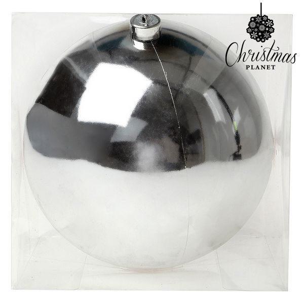 xekios Boule de Noël Christmas Planet 7605 20 cm Argenté