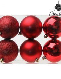 xekios Boules de Noël Christmas Planet 7933 8 cm (6 uds) Doré
