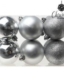 xekios Boules de Noël Christmas Planet 8190 6 cm (12 uds) Doré