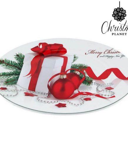 xekios Assiette Décorative Christmas Planet 1147
