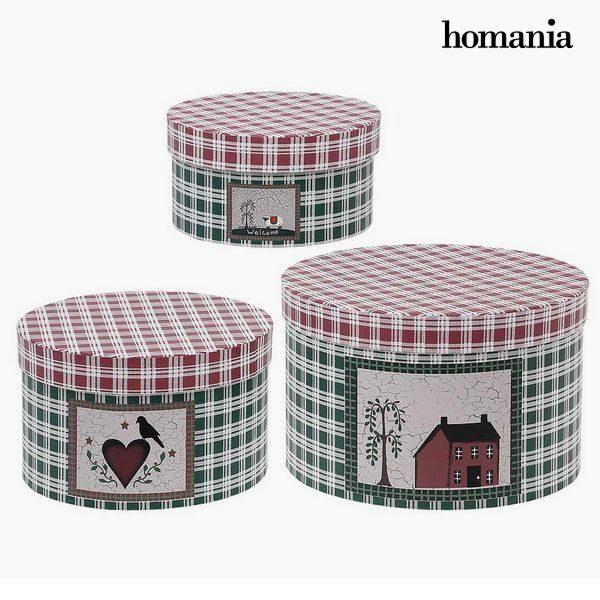 xekios Boîte Décorative Homania 7611 (3 uds) Carton