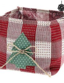 xekios Panier Christmas Planet 8769 Rouge