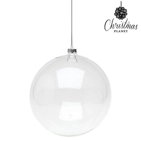 xekios Boule de Noël Christmas Planet 8811 15 cm Verre